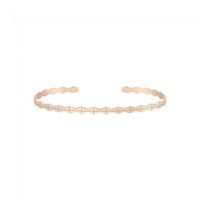Bratara fixa Infinity Air din aur roz