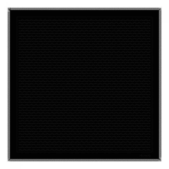 Esarfa Infinity, culoare neagra