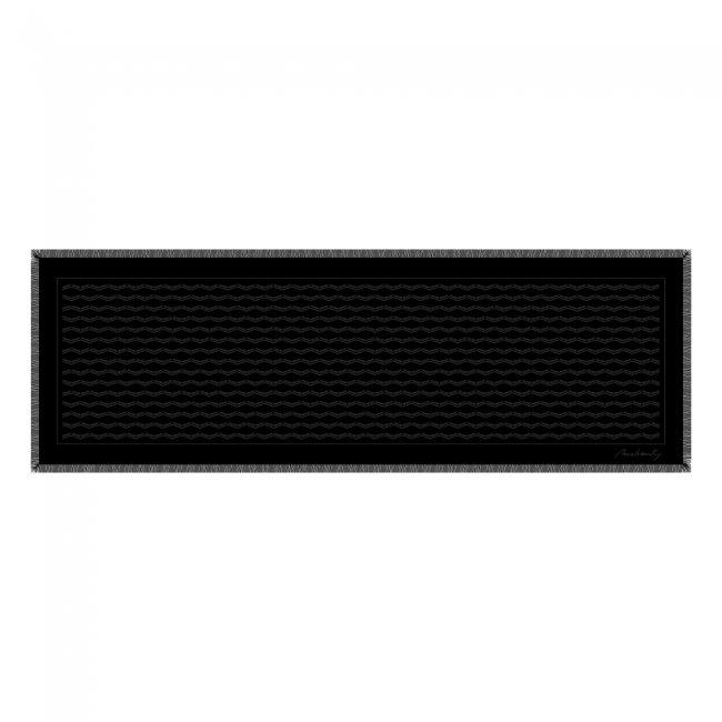 Esarfa Infinity, For Him, culoare neagra