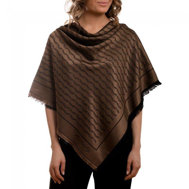 Esarfa Infinity, culoare camel
